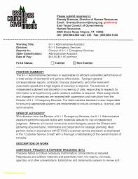 Resume For Admin Assistant Position Download Now Sample Resume