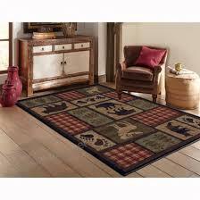 oriental weavers of america woodland indoor lodge area rug common 10 x 13