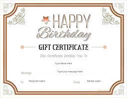Free Create Printable Coupon Blank Gift Certificates