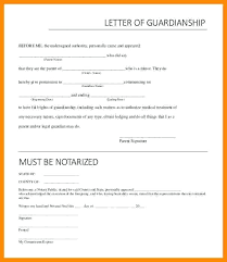 Notarized Letter Of Guardianship 64 Example Notarized Letter Of Guardianship Sample Cover For