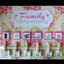 Family Home Evening Chart Ideas Pin On Lds Fhe