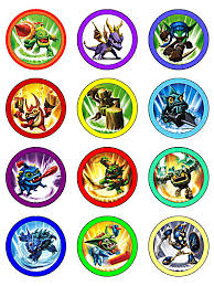 Small Picture Free printable cupcake toppers Skylanders Party Pinterest