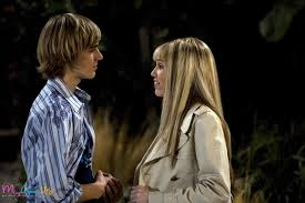 Hannah Montana and Jake Ryan
