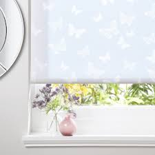 Colours Alessia Corded White Roller Blind
