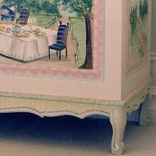 alice in wonderland furniture. French Toy Chest (alice In Wonderland) Alice Wonderland Furniture