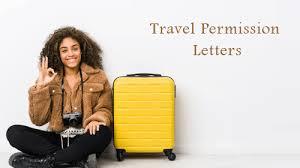 travel permission letter format