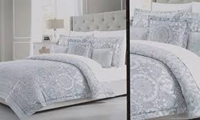 white bed sheets texture. Fine White Tahari King Duvet Cover Set Textured 3 Pc Medallion Bohemian Paisley  Pattern Cotton Gray Blue And Tan On White Bedding For Bed Sheets Texture S