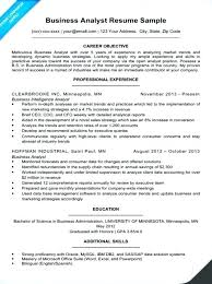 Agile Business Analyst Resume - Sarahepps.com -