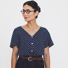 Collette Patterns Gorgeous Aster Shirt By Colette Patterns Sprout Patterns