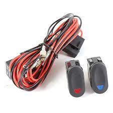 light wiring harness kit for 2 lights by rugged ridge midwest jeep light wiring harness kit for 2 lights by rugged ridge