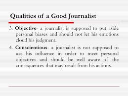 qualities of a good journalist essay   essay topicsqualities of a good journalist essay