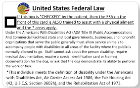 Service Animal Travel Achieved Service Animal Letter Pdsc