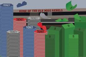 Ole Miss Football Seating Chart 2017 Ole Miss Looks To Shift As Ticket Sales Continue To Fall