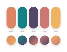 Colour Swatches For Designers 32 Beautiful Color Palettes With Their Corresponding