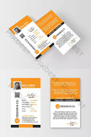 Company Id Card Template Id Card Design Templates Psd Vectors Png Images Free