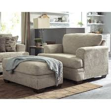 chair and a half. Beautiful And Benchcraft Barrish Contemporary Chair And A Half U0026 Ottoman And A