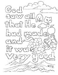 Free Printable Creation Coloring Sheets Creation Coloring Page Free