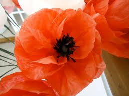 Make A Paper Poppy Flower Paper Flowers Colleens Creations