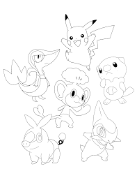 Pokemon Axew Coloring Pages Coloring Home