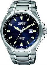 """citizen watches men s ladies eco drive watch shop comâ""""¢ mens citizen titanium eco drive watch bm7170 53l"""