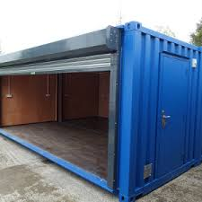 20ft x 16ft Bike Store Lined with Power. Custom Smoking Shelter. Data Storage  Container
