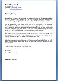 Free Cover Letter For Resume Amazing Job Cover Letter Email