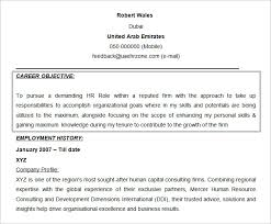 career goals for resume resume objectives 61 free sample example format download free