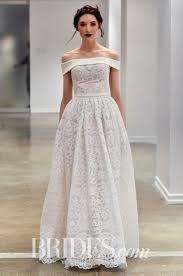 new off the shoulder wedding dresses brides