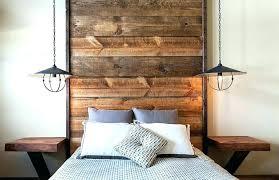 wood wall headboard wood panel headboard wooden panel bedroom floor to ceiling headboard with wooden planks