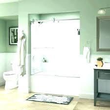 lovely half glass shower door premiumline old fashioned delta shower assembly