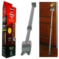 Beautiful Door Stopper Security Bar In 1 Alarm Steel Construction 3925 Throughout Simple Ideas