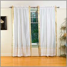 white wood curtain rod home depot
