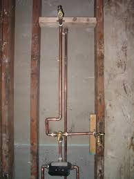 shower valve install