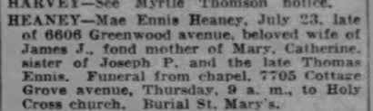 Obituary for Myrtle HARVEY - Newspapers.com