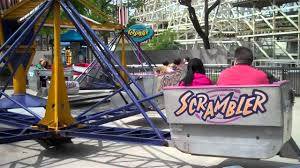 scrambler at dorney park youtube