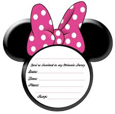free minnie mouse invitation template party simplicity minnie mouse party ideas and free printables