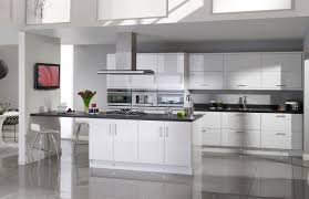 Cream Gloss Kitchen Modern Cream Gloss Kitchens Quicuacom
