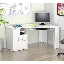inval laricina white corner desk