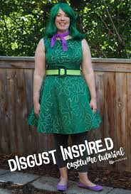 disgust inside out inspired costume cosplay tutorial diy