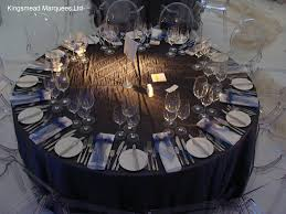 6 round table seating up to 12 guests