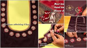 Class Of 2019 Embroidery Design Most Beautiful Hand Embroidery Blouse Design Simple Craft