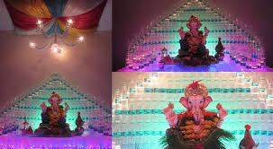 ganpati decoration ideas for home the royale