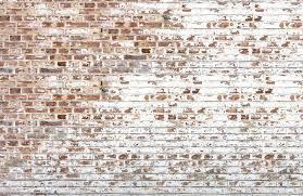 White Painted Brick Wallpaper Mural ...
