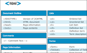 html reference sheet web designers melbourne 70 cheat sheet resources for web designers