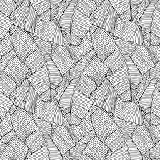 Pattern Vector Awesome Vector Illustration Leaves Of Palm Tree Seamless Pattern Stock