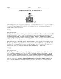 example of persuasive essay for college