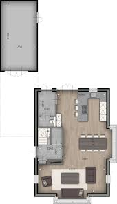 Plattegrond Woonkamer Keuken Wc Garage Huizen In 2019 Huis