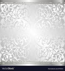 Silver Pattern Unique Silver Background Royalty Free Vector Image VectorStock