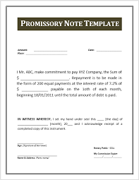 ms word samples promissory note template microsoft word 43 free promissory note