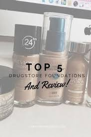 in depth post about all the 5 best foundations for all skin types